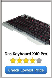 Das Keyboard X40 Pro Gaming Keyboard